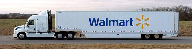 Caminhão da Wal-Mart