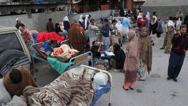 ავღანეთში, პაკისტანსა და ინდოეთში მიწისძვრას, 300-მდე ადამიანი ემსხვერპლა