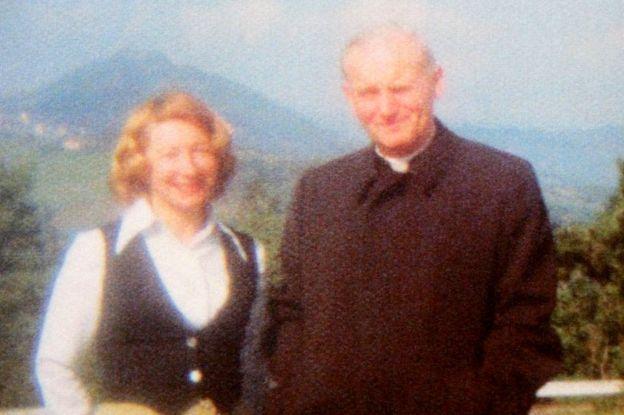 Anna-Teresa Tymieniecka and Cardinal Karol in 1977