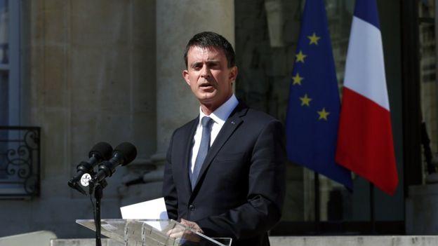 El primer ministro Manuel Valls informó que la sección antiterrorista del Ministerio Público la que se ha hecho cargo de la investigación.