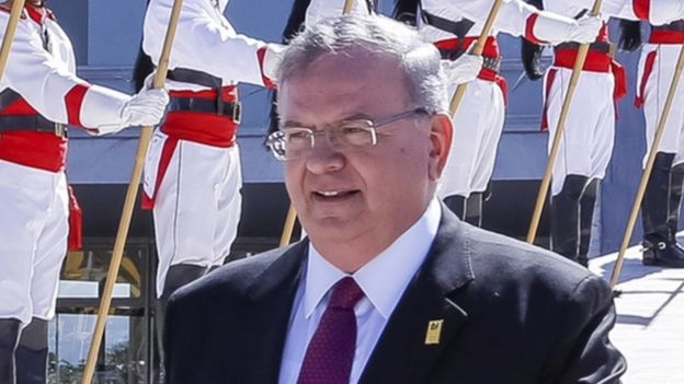 遇害的希腊驻巴西大使阿米里迪斯