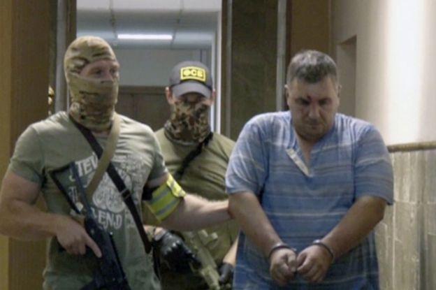 Yevhen Panov in custody