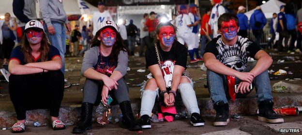 Dejected Cleveland fans reflect on their World Series loss