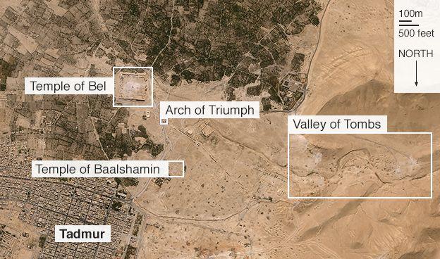 Map of Palmyra