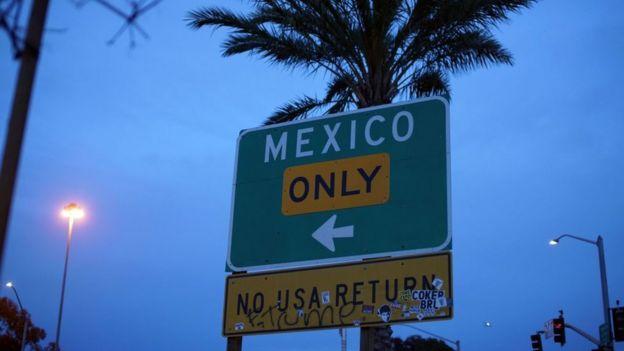Frontera de San Ysidro.