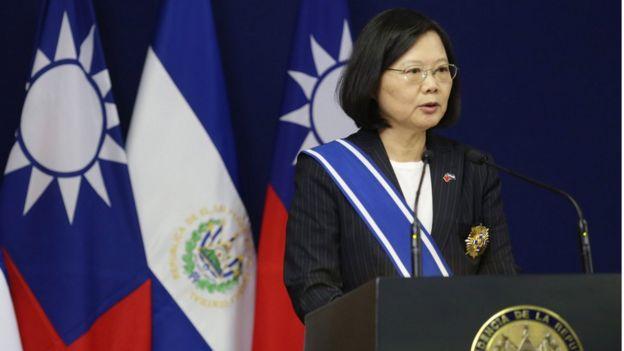 تماس تلفنی خانم تسای اینگ-ون با دونالد ترامپ سیاست چهار دهه اخیر آمریکا با چین را نقض کرد