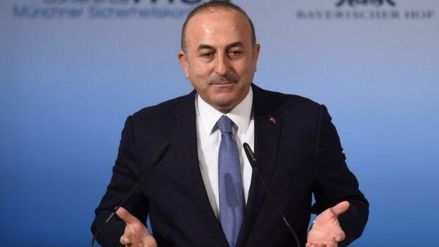 مولود چاووشاوغلو وزیر خارجه ترکیه