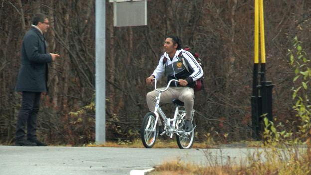 Новый путь миграции - на велосипеде из России в Норвегию