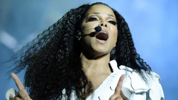 Janet Jackson performs on stage during her