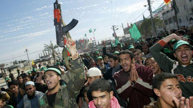 Simpatizantes de Hamas