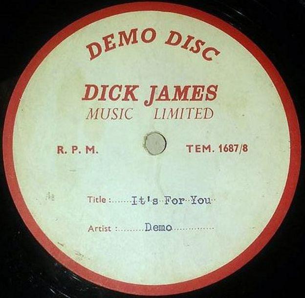 The Beatles Polska: Demo autorstwa duetu McCartney/Lennon napisane dla Cilli Black zostało sprzedane