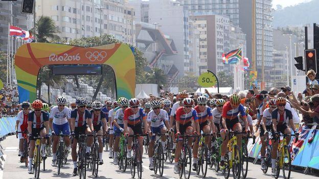 Carrera de ruta en Rio