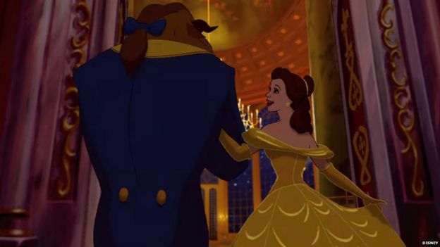 animasi beauty and the Beast