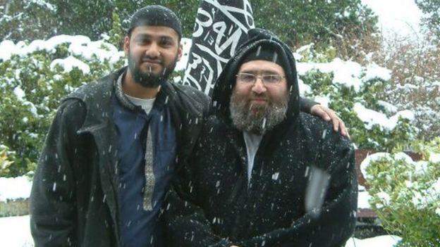 Ражиб Хан и Омар Бакри Мохаммед