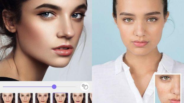 Modelos de Meitu