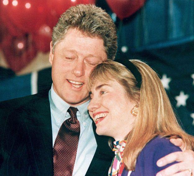 Gia đình Clinton năm 1992