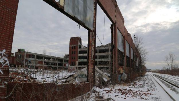 Planta automotriz en Detroit