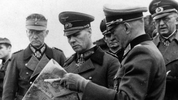 隆美爾是二戰中備受尊敬的德國將領