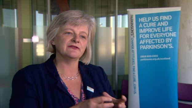 Katherine Crawford, the Scotland director of Parkinson's UK