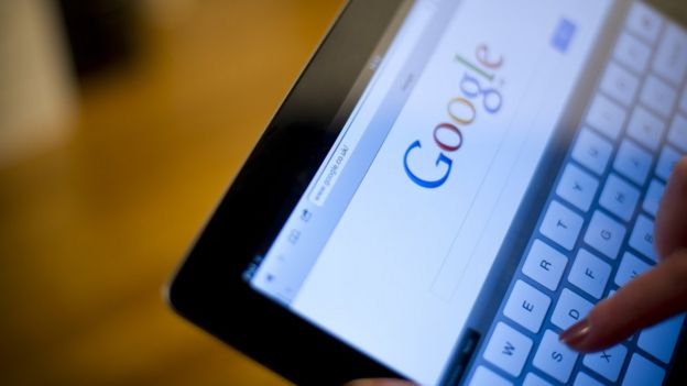 Tablet computer with Google