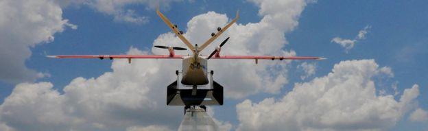 drone in Rwanda