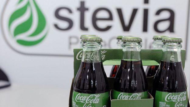 Stevia y Coca Cola
