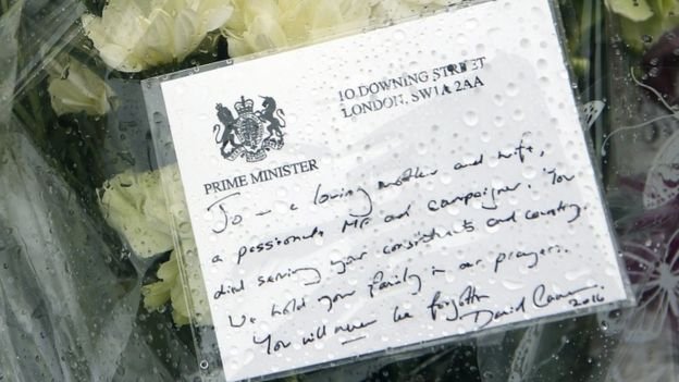 Tribute from David Cameron