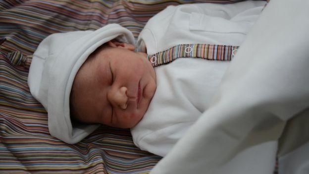 Moaza's baby boy ( Ovary Frozen )