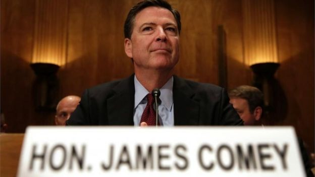 Director del FBI James Comey.