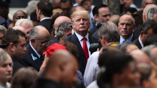 Donald Trump alihudhuria hafla hiyo