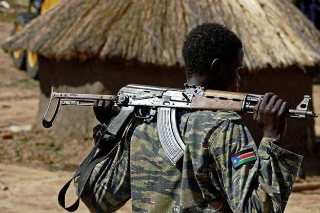 Pande zote kwenye mzozo nchini Sudan Kusini zimejihami vikali