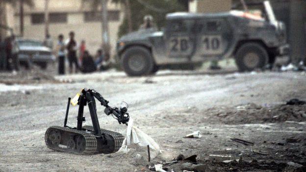 MARCbot en Irak