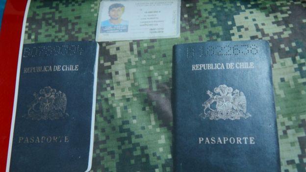 Pasaportes de Santiago