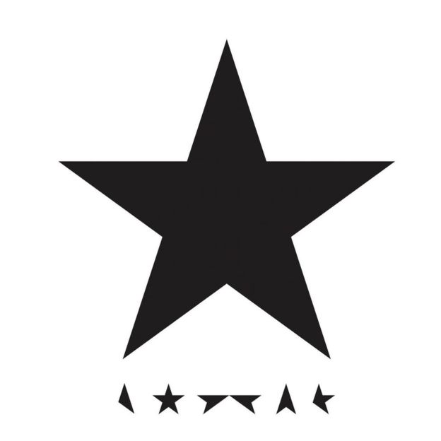 The cover for David Bowie's Blackstar