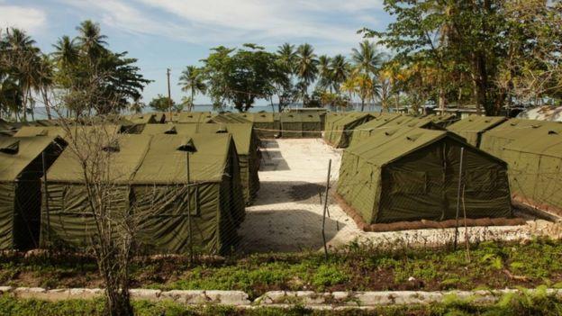 Manus Island asylum centre