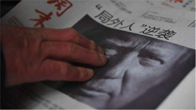Báo Trung Quốc về Trump
