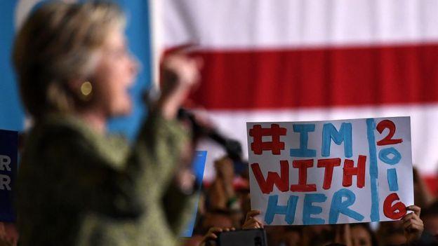 Clinton campaigns in Las Vegas