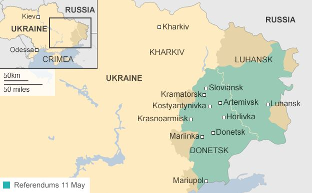 Referendums in Eastern Ukraine