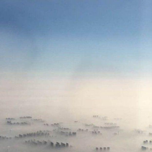 Pekín desde el aire