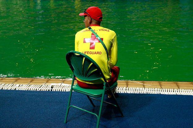 Salvavidas en Río 2016.