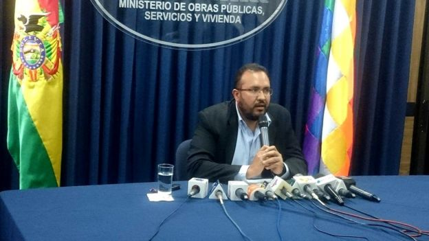 Ministro de Obras Públicas de Bolivia