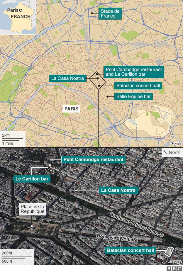 86684278 bataclan and petit cambodge 624 v3 - Paris Attacks: Bataclan and other asaults leave many dead