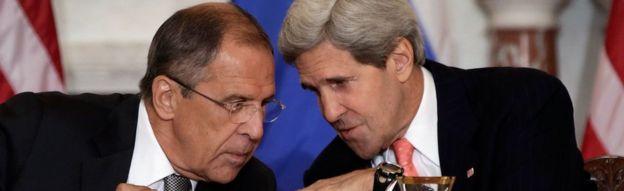 Lavrov ve Kerry