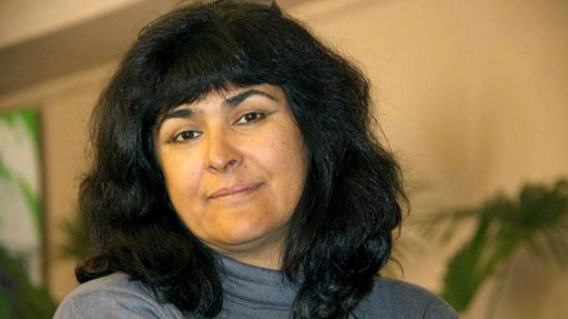 Журналистка Зарина Хушвахт