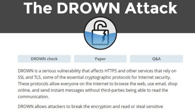 'Thousands of popular sites' at risk of Drown hack attacks ilicomm Technology Solutions