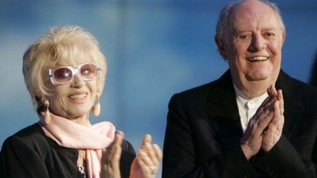Dario Fo ve eşi Franca Rame
