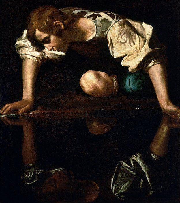 Narciso de Caravaggio (1594-96)