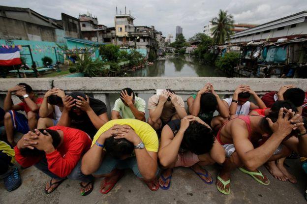 Nghi phạm ma túy bị bắt tại Manila
