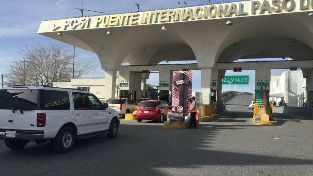 Puente fronterizo Ciudad Juárez - El Paso