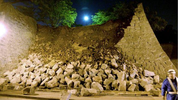 Image result for kumamoto earthquake killed